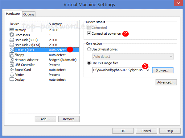 How to Boot from USB Flash Drive on VMWare Workstation? | Password
