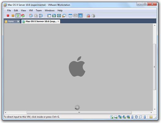 Install Mac OS X Snow Leopard on a PC using VMware