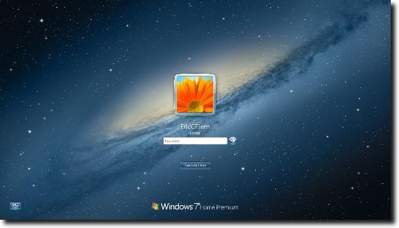 how to change windows 7 logon screen password recovery