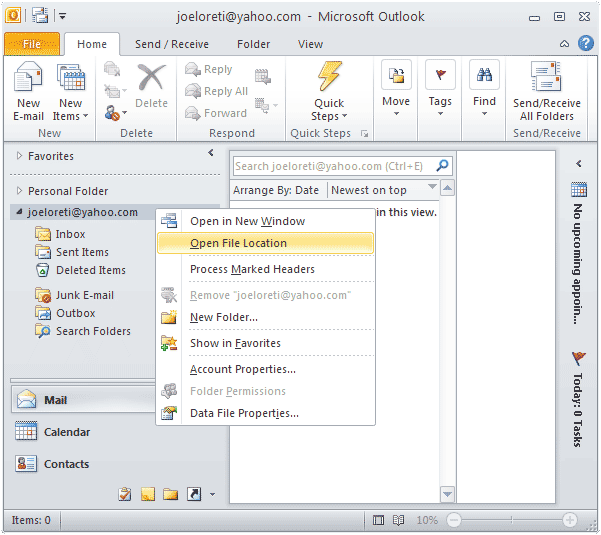 what is a pst file how to open