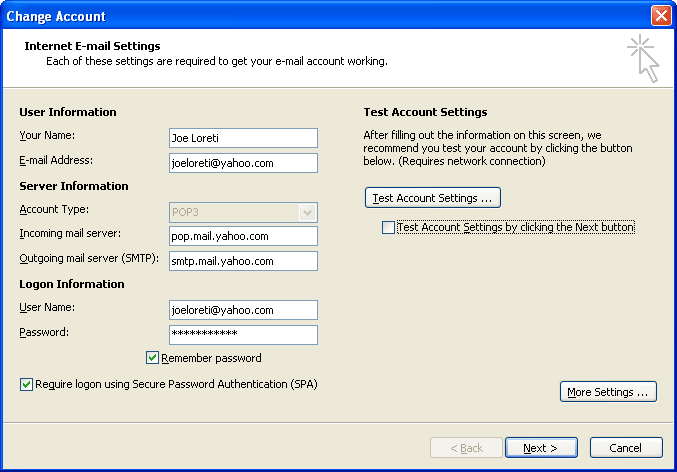 How to Reveal Email Account Password in Outlook 2010