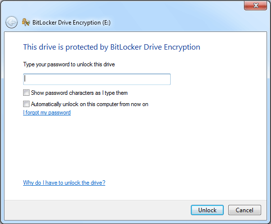 Full drive encryption with Windows 7 Pro - Spiceworks