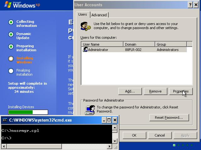 How to Hack Windows XP Password with a Installation Disc | Password