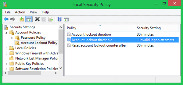 account-lockout