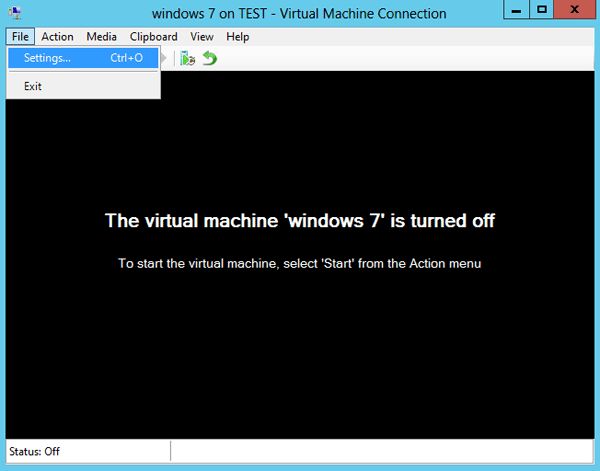 how to clear bios settings for virtual machine