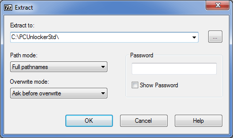 How to Decompress A ZIP/RAR File with 7-Zip | Password Recovery
