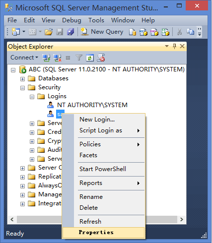 Query to change user password in sql server 2008