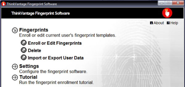 How to Setup the Fingerprint Reader on Lenovo Laptops | Password