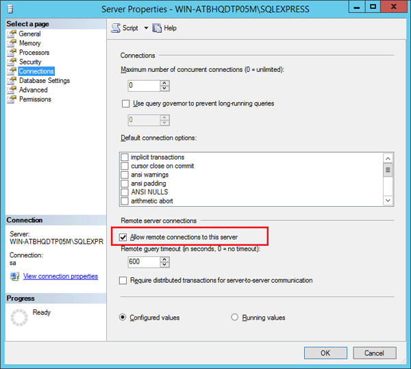 How to Enable Remote Connections in SQL Server 2014/2012/2008