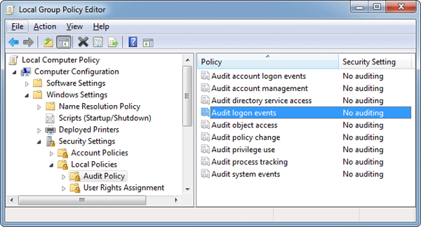 audit-logon-events