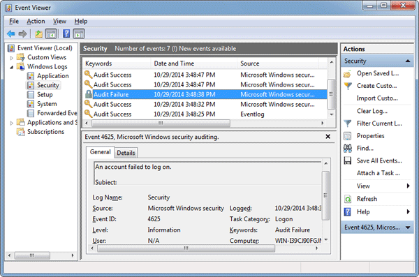 How to track user logon activity with logon auditing password