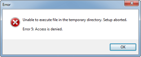 unable-execute-file