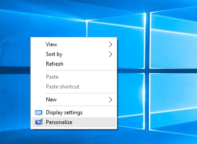 how to get my normal desktop on windows 10