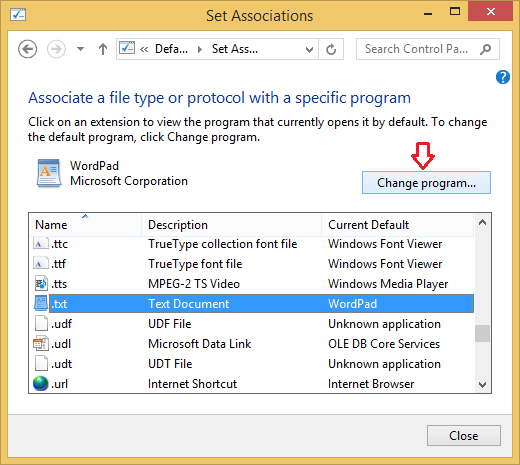 Windows 10: Associate A File Type With A Specific App