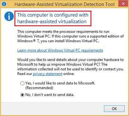 virtualization-detection