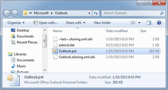 backup-pst-file