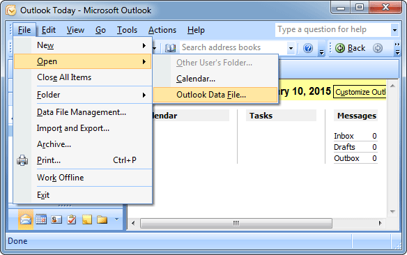 import-outlook-pst