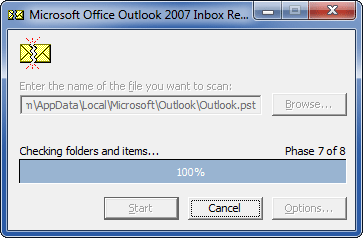Repair Your Corrupted Outlook Personal Folders (PST) File
