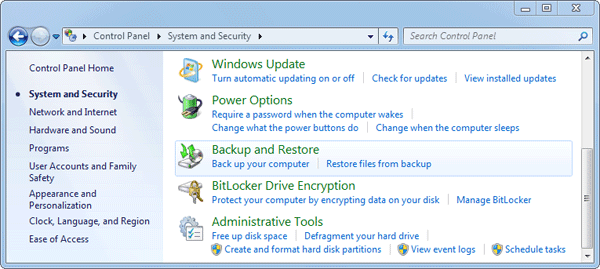 How to Reset Windows 7 to Factory Settings without Install
