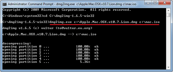 extract dmg mac command line