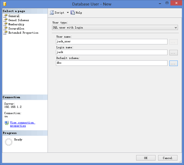 new-sql-database-user