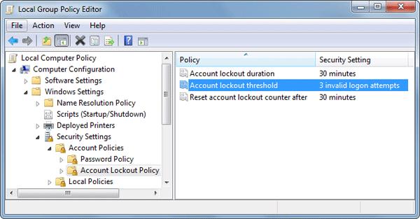 Windows Vista – Password Recovery