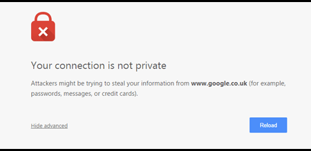 connection-not-private