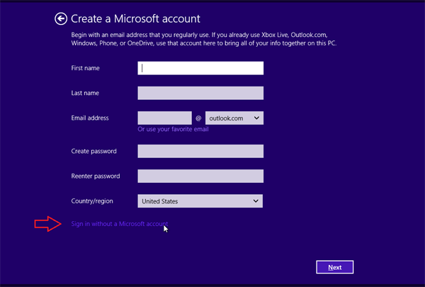 install-without-ms-account