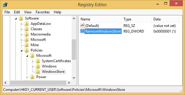 remove-windows-store