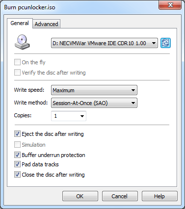 burn-cd-with-InfraRecorder
