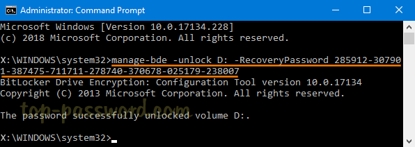 How to Decrypt BitLocker-Encrypted Drive from Command Line