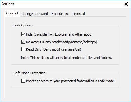 lock-options
