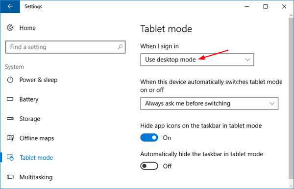 use-desktop-or-tablet-mode