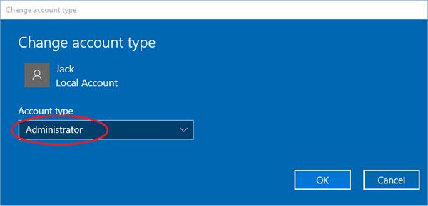 change-account-to-admin