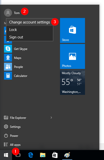 How to Change or Remove User Account Picture in Windows 10