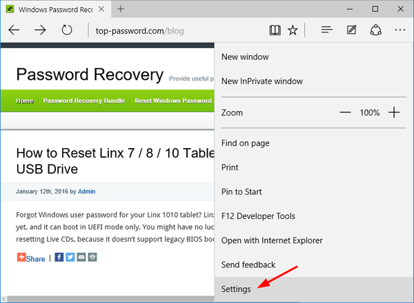 How to get microsoft edge not to save remember passwords password