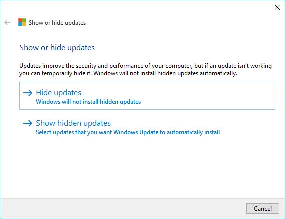 how to stop windows updates once started