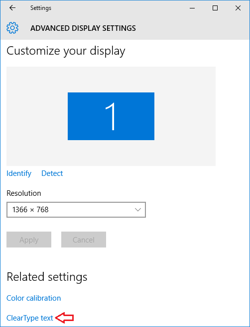 3 Ways to Turn On / Off ClearType Text in Windows 10 ...