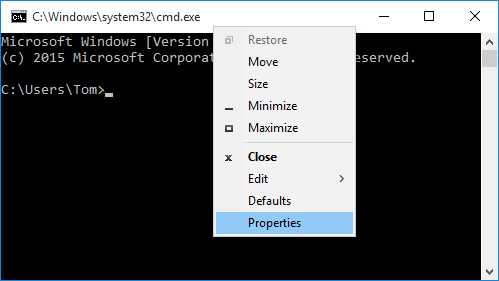 Windows 10 Command Prompt: New Console vs  Legacy Console