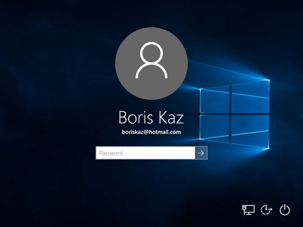 how to switch to local account from microsoft account with without