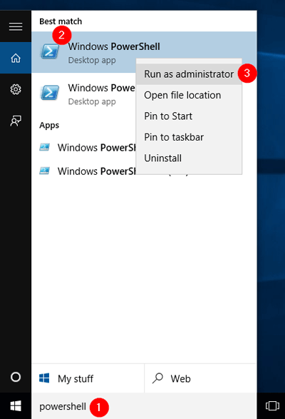5 Ways to Run Powershell as Administrator in Windows 10 | Password