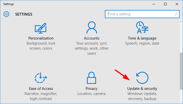 windows 10 auto update off settings