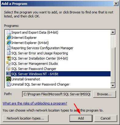 add-sql-server