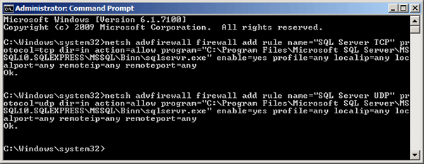 how to allow ports through firewall windows 7