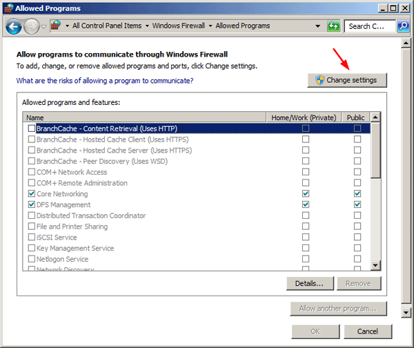 how to change firewall settings on router