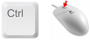 ctrl-mouse-wheel