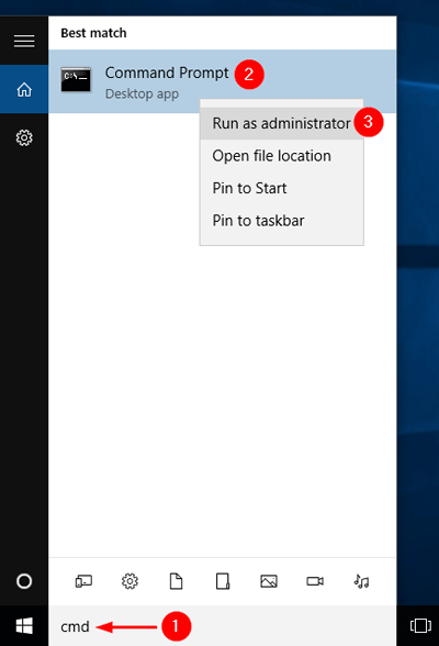 run-cmd-from-cortana-search