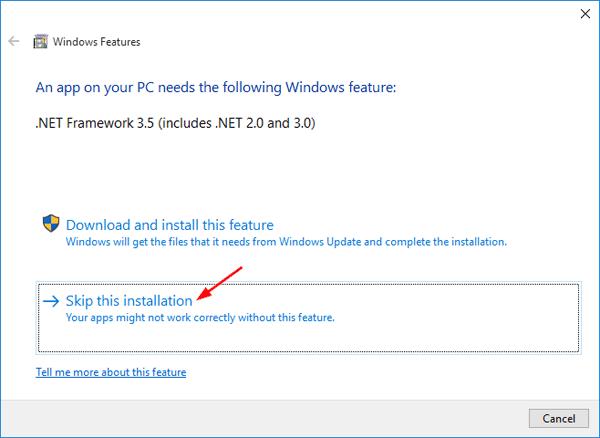 skip-net-framework-install