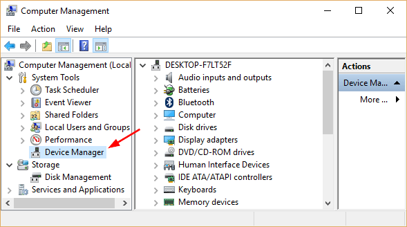 audio device manager windows 10