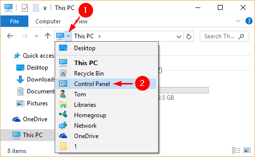 file-explorer-arrow